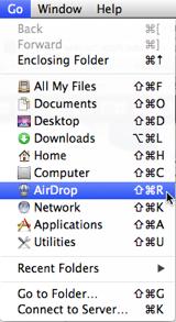 Finder - AirDrop