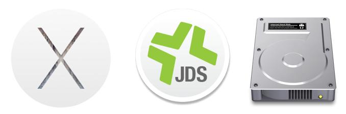 OS X, Disk, JDS