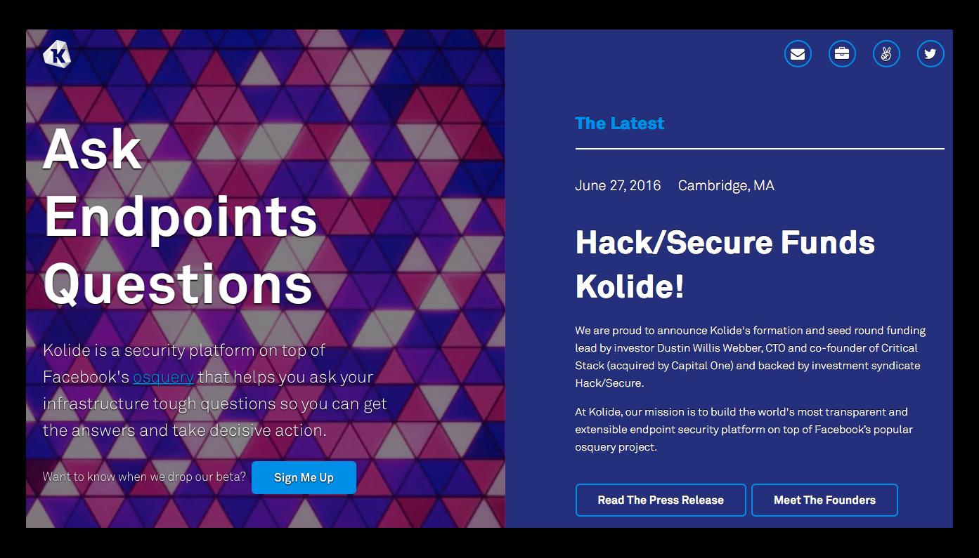 kolide-web-page