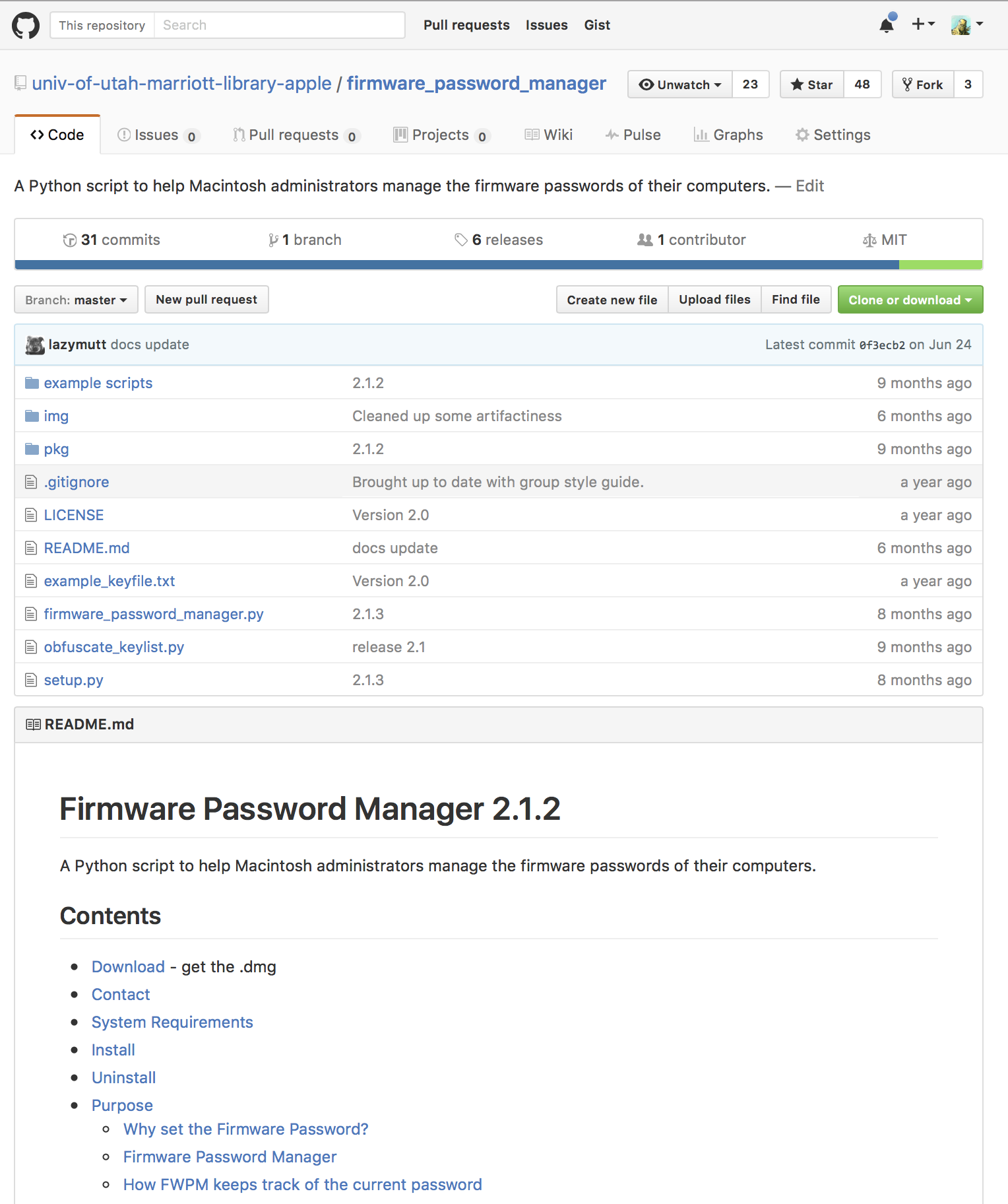 firmware-password-manager-web-site-example
