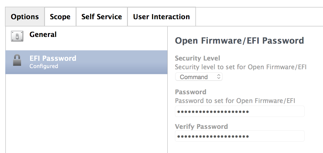 Firmware Password Manager for OS X – Marriott Library – Apple ITS