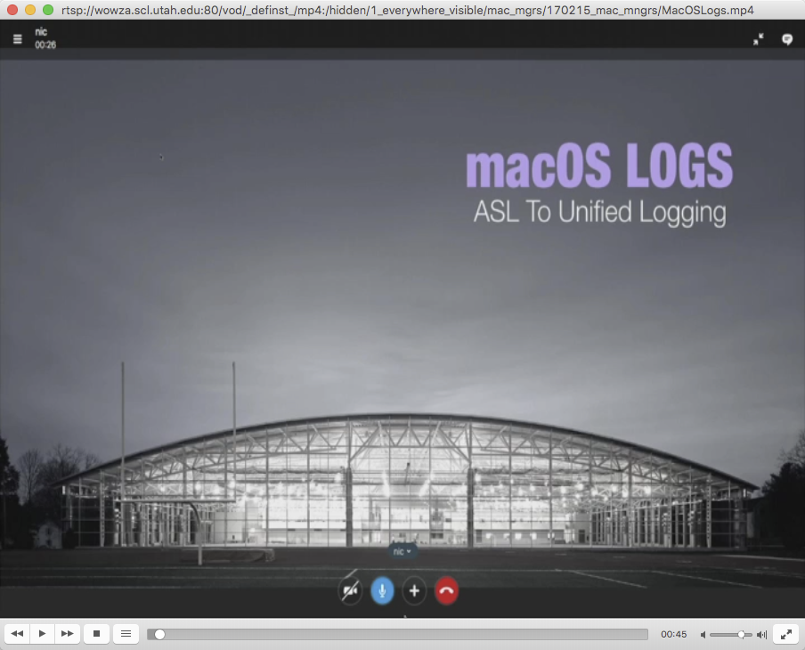 Webpage Requires QuickTime Plugin – Marriott Library – Apple ITS