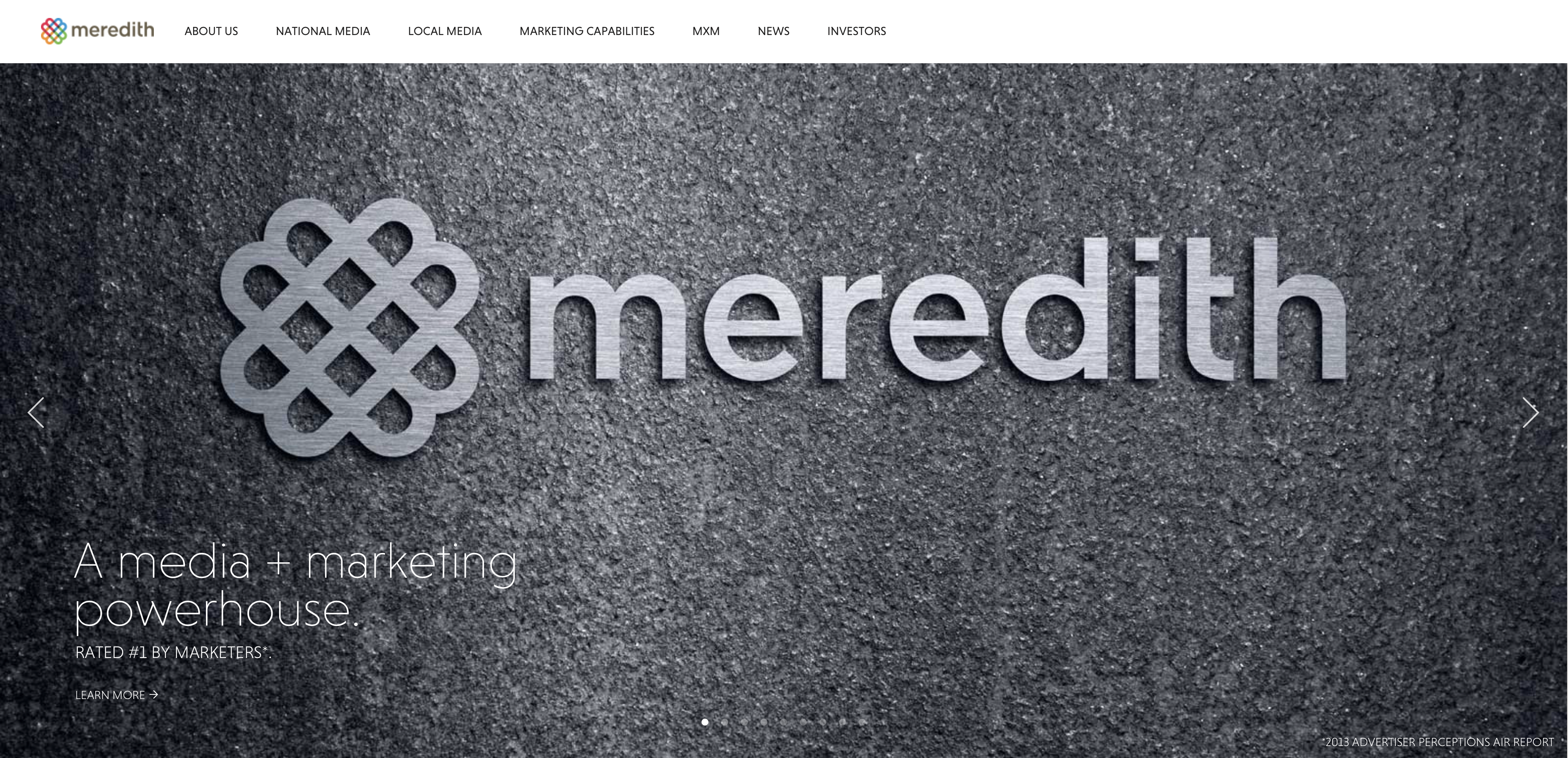 meredith corporation 1 day ago  meredith corporation (mdp - free report) is a media and marketing services company based in des moines, ia the company has two operating segments: national media and local media as of this year .